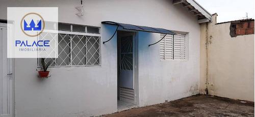 Casa Com 2 Dormitórios À Venda, 100 M² Por R$ 185.000,00 - Jardim Alvorada - Piracicaba/sp - Ca0759