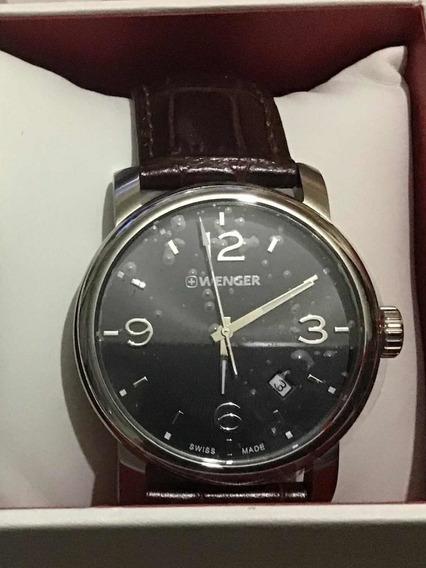 Hermoso Reloj Wenger Suizo Totalmente Nuevo Y Original