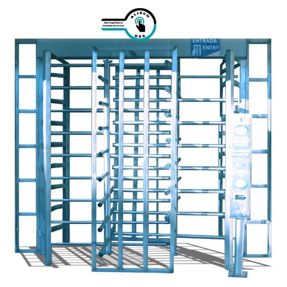 Puerta Giratoria Doble Con Sistema De Cobro -alsecodea