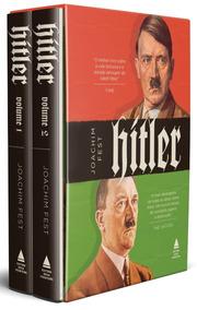 Hitler Caixa 2 Volumes Livro Capa Dura Joachim Fest