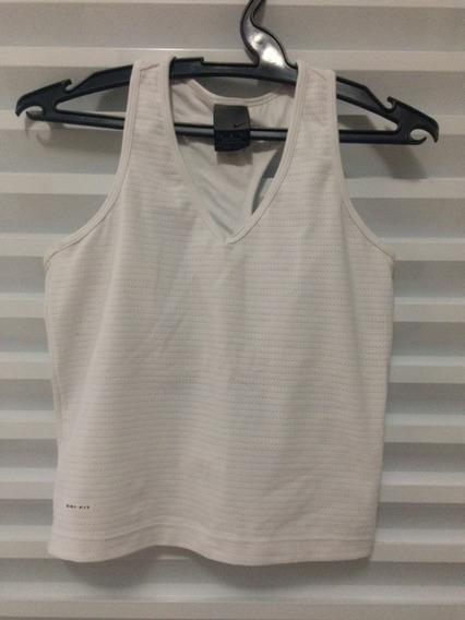 Camiseta Regata Nadador Branca Da Nike