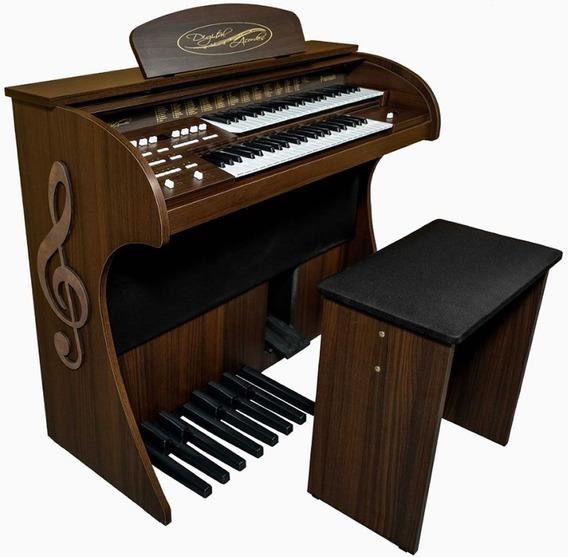 Órgão Eletrônico// Digital Acordes- Premium-nf-1ano Gar.