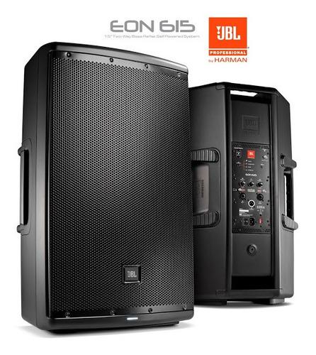Caixa De Som Profissional Jbl Eon615 C/bluetooth 15' 1000w