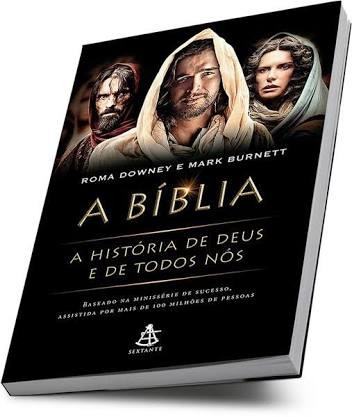 Livro A Biblia ( A Historia De Deus E De Todos Nós)