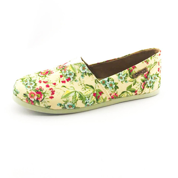 Alpargata Quality Shoes Feminina 001 Floral 202