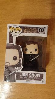 Jon Snow Game Of Thrones Funko Pop En Caja Original #07