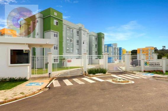 Apartamento Com 2 Dormitórios À Venda, 41 M² Por R$ 138.500,00 - Tindiquera - Araucária/pr - Ap0148