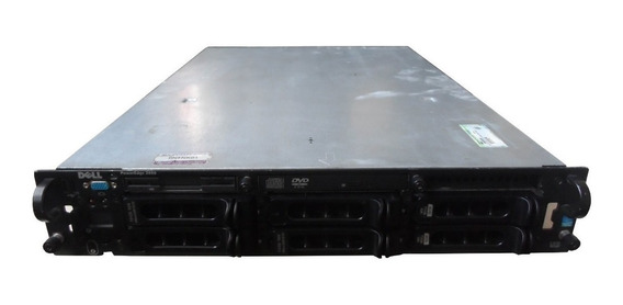 Servidor Dell 2850 2 Proc Xeon 8gb 2x Hd 146gb Scsi - 32bits