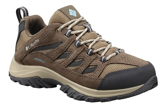 Zapatillas Trekking Mujer Impermeables Columbia Crestwood