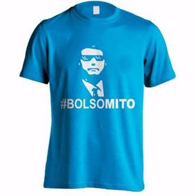 Camisa Bolsonaro Presidente Mito - Cod = 5