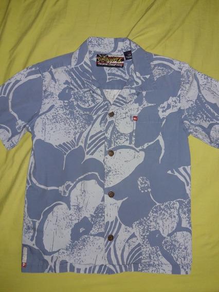 Camisas Quiksilver 100% Originales Para Niños. Tallas S Y L