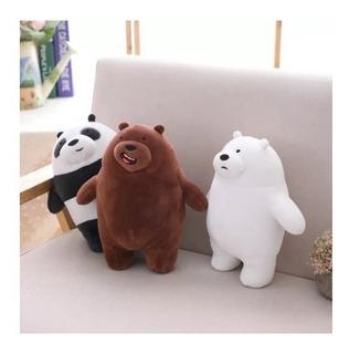 Osos Escandalosos -peluches Importados,pardo , Polar Y Panda