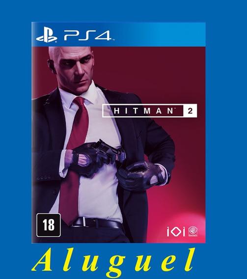 Hitman 2 - Ps4 - .aluguel 1 Mes