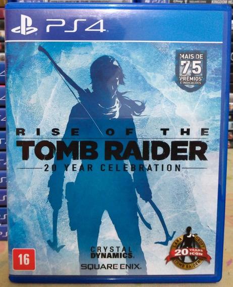 Rise Of The Tomb Raider Ps4 - Jogo Mídia Física Em Português