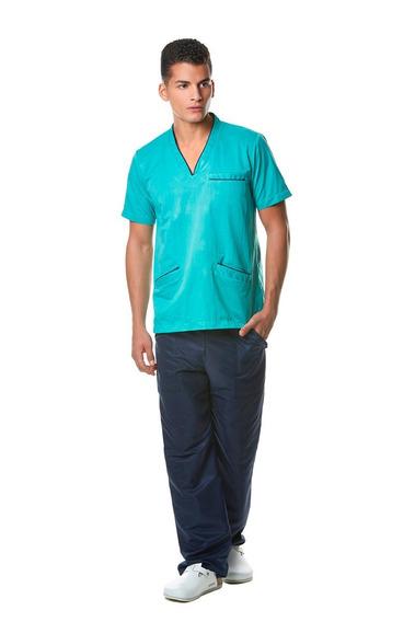 Conjunto De Uniforme Unisex Pantalon Y Filipina 12 C Cion