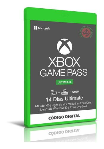 Xbox Live 14 Dias Gold Membresia Global Entrega Rapida
