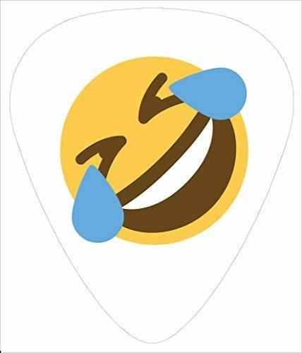 Paquete De 14 Puas De Guitarra Emoji .71mm Mediano Unico 1