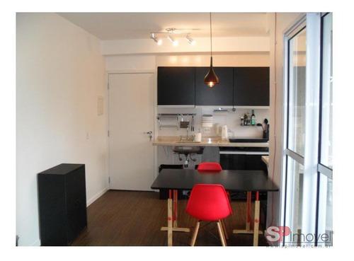 Imagem 1 de 21 de Apartamento Com 1 Dormitório À Venda, 35 M² Por R$ 530.000,00 - Sumaré - São Paulo/sp - Ap6531v