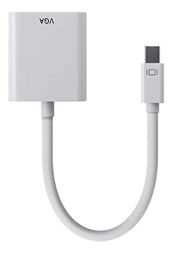 Imagen 1 de 4 de Monoprice Mini Displayport 12a Thunderbolt To Vga Active Ada