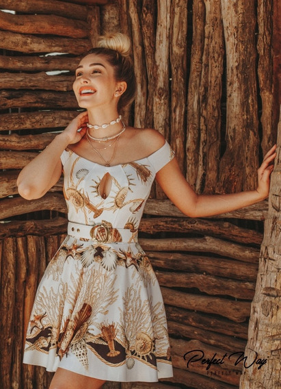 Vestido Est. Exclusiva _ Perfect Way Vanessa Lima Mondabelle