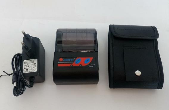 Impresora Térmica Goojprt Mtp - Ii Bluetooth Portátil 58mm