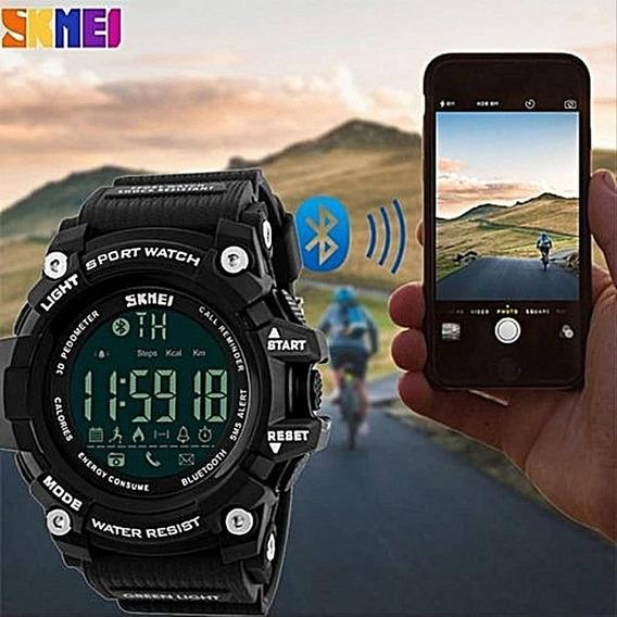 Reloj Smart Watch Skmei 1227 Bluetooth Contra Agua + Estuche