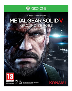 Metal Gear Solid V Ground Zeroes, Xbox One
