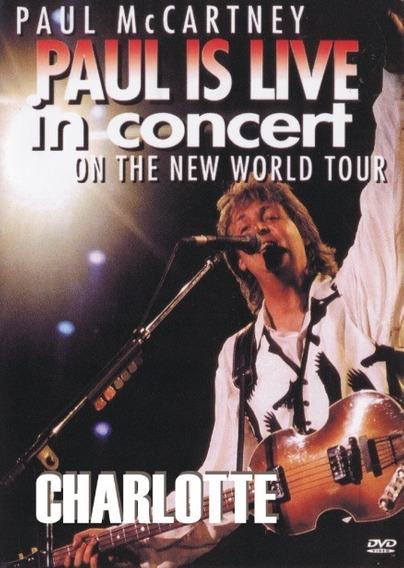 Dvd Show Musical - Paul Is Live - (1993) # Muito Novo