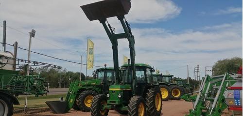 Tractor John Deere 2140 84 Hp 4x4 Con Pala Mary Grande