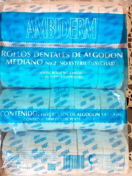 Rollo De Algodón Ambiderm Desechable Pq/1000