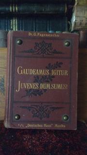 Dr. G. Pagenstecher Kommersbuch