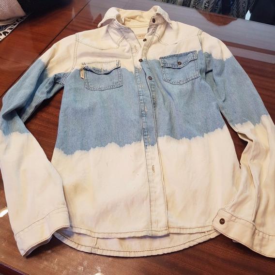 Camisa De Jean Batick 47 Street, Talle S