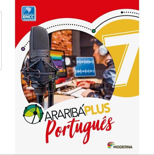 Arariba Plus Português 7 Ano Livro Didático Editora Moderna