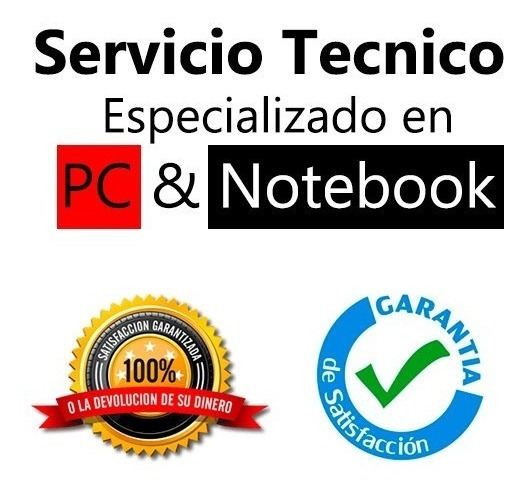 Instalaciones - Backup - Pc & Notebook