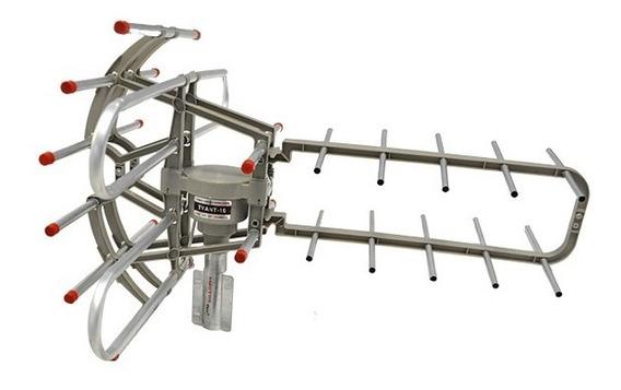 Antena Digital Hd Para Exterior Giro Motorizado Master