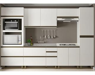 Cozinha Completa Dalla Costa Modulada Lovere 6pc K111 Mdf