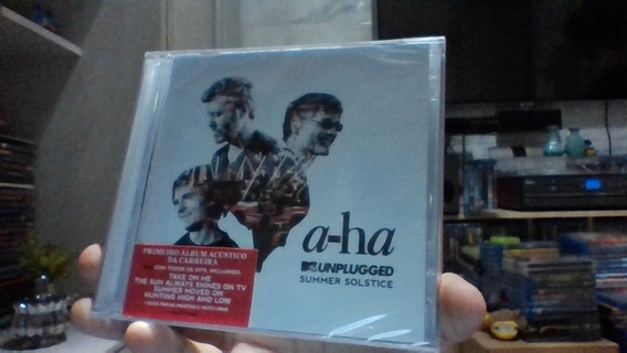 Cd A-ha Mtv Unplugged Summer Solstice Lacrado Frete 10 R$