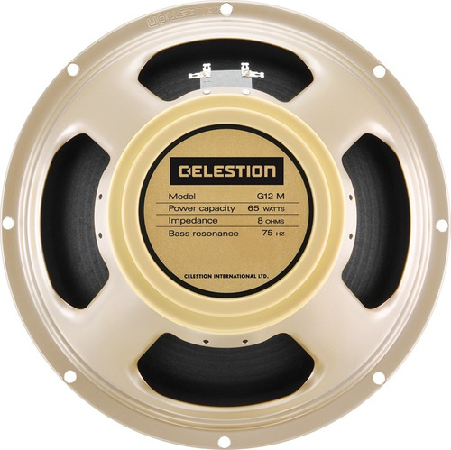 Celestion G12m Creamback Parlante Guitarra Made In Uk