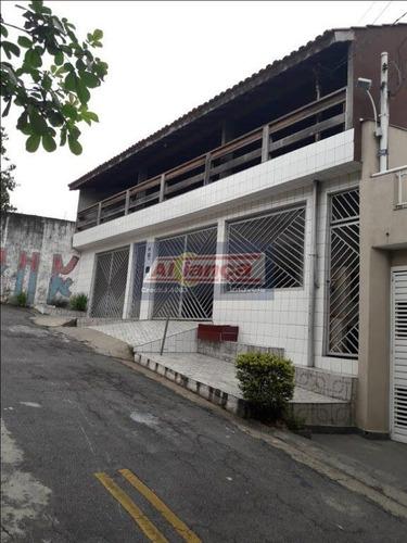 Sobrado Com 7 Dormitórios À Venda, 270 M² Por R$ 636.000 - Vila Bremen - Guarulhos/sp - Ai9325