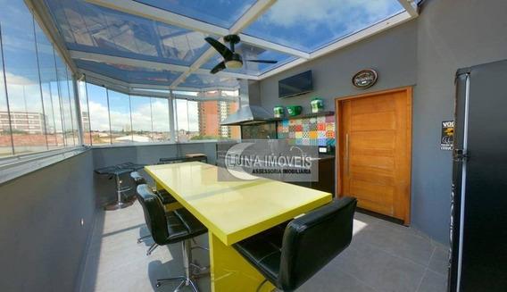 Cobertura Com 2 Dormitórios À Venda, 129 M² Por R$ 405.000,00 - Vila Santa Terezinha - São Bernardo Do Campo/sp - Co0100