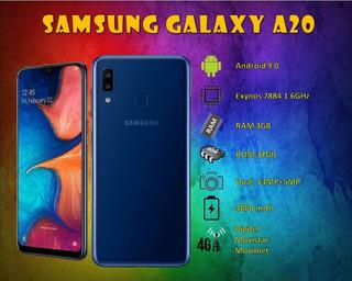 Telefono Smartphone Samsung Galaxy A20
