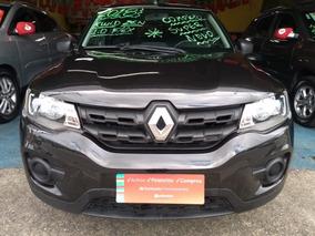 Renault Kwid Flex Zen 1.0 Completo Top Lindo 2018