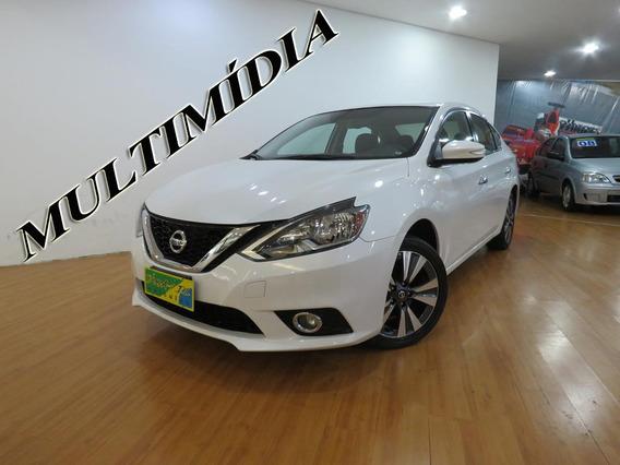 Nissan Sentra 2.0 Sv Flex 4p Aut Completo C/ Mult 22.800 Kms