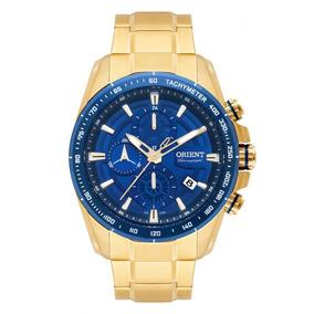 Relógio Orient Dourado Masculino Mgssc024d1kx