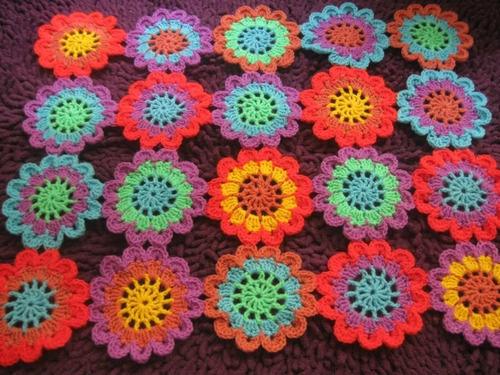 Caminos De Mesa Crochet  1m De Largo