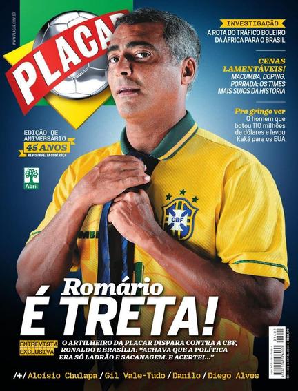 Revista Placar - Todas As Décadas - Lote Com 04 Revistas