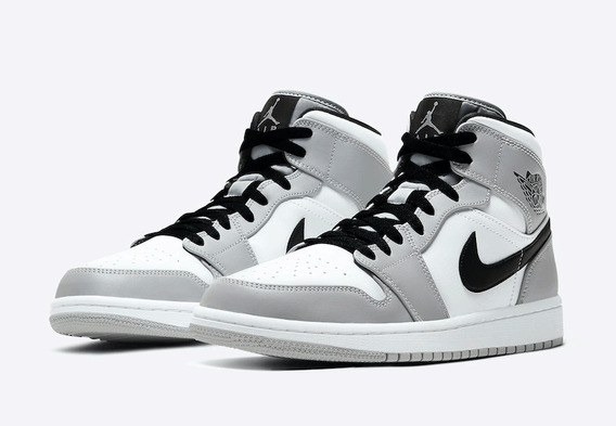 Tênis: Nike Air Jordan Mid - Smoke Grey Diorzinho
