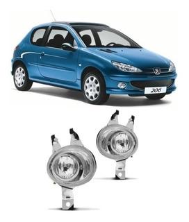 Para Peugeot 206 7//2003-2009 lámparas de luz Antiniebla Delantera 1 Par O//S y N//S