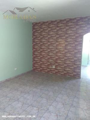 Casa Para Locação Em Taboão Da Serra, Jd Maria Rosa, 1 Dormitório, 1 Banheiro - 8176