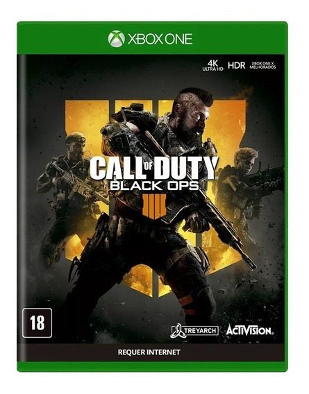 Call Of Duty Black Ops 4 Midia Física Xbox One